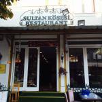 Front of Sultan Corner Suites