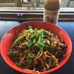 BBQ Pork Singapore Noodles