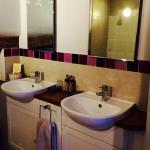 Bathroom with 'mood lighting'