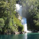 Otra cascada durante el recorrido
