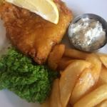 The best fish and chips!