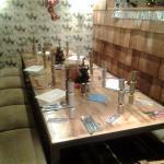 festive table ready