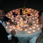 Romantic Kosher Dinner on the Beach in Cancun