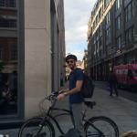 Biking around London