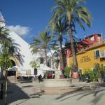 Plaza Santo Cristo - across the street from Hotel Claude