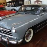 View of cars in Swope Museum