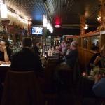 Bar area at Justin Thyme