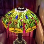 Art deco lamp in my room