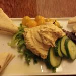 Fantastic hummus & pita