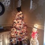 Lobby decorations.