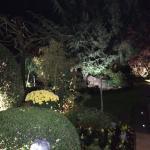 Jardim 1 à noite