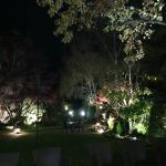 Jardim 2 à noite