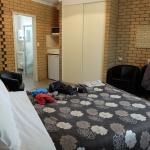 Spacious and tidy room