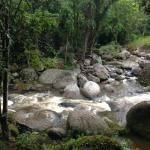 rio que passa dentro da propriedade