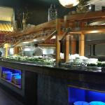 Sushi buffet bar
