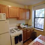 Full kitchen in Studio 3F at 331 State Street in Boerum Hill