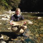 7.5 pound brown trout