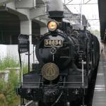 熊本駅のSL人吉