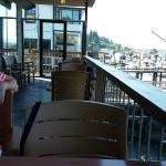 Outdoor Patio at Cow Bay Marine Pub  |  1695 Cowichan Bay Road, Cowichan Bay, British Columbia,