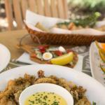 Fried calamari with aioli