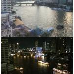 Day/Night view of the River