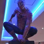 Spider Man veille sur le restaurant