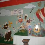 murales per le scale