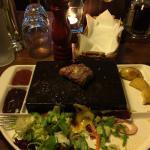 Wspominamy stek a raczej jego końcówka polecam !!!