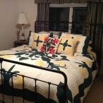 Beautiful quilts on every bed.