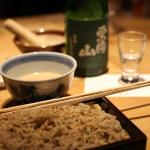 Oh sesame soba, I miss you so much! wish I could eat you again!!!