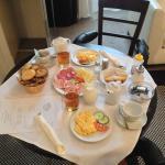 Ontbijt op de kamer