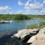 Great snorkeling at Yal-ku lagoon