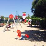 Aire de jeux enfants
