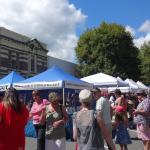 Mercado de sábado em Nelson