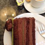 Outra especialidade austríaca, a torta Mozart!