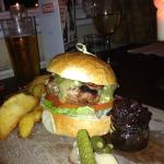 Classic Burger with Kentish Blue