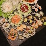 Sushi do Origami na Rua da Escola Politécnica