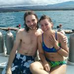 WCD gave us a chance for a private dive and made our engagement a very memorable moment!