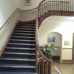 staircase in reception
