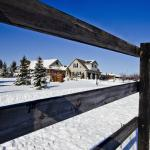 Serenity Ranch - warm and cozy for a winter getaway.  Near crisp hiking trails.