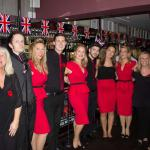 The team at the Wro and the Poppies