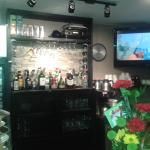 new look of the bar area