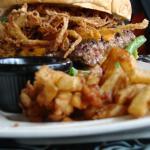 Giant 10+ oz Onion Suprise Burger