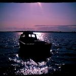 Lonely Boat Sandbanks