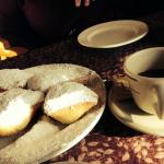 hot beignets and chicory coffee!