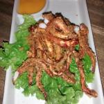 deep fried squid tentacles