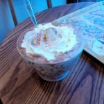 Hot chocolate with cream Grande - Good value