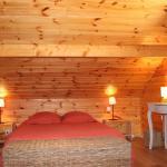 Chambre couleur bois