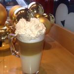 Delicious Christmas gingerbread latte !!