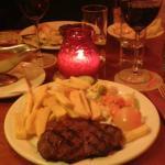 Bistecca e patatine